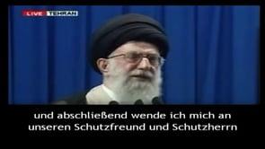 Imam Chamene'i wendet sich an den Statthalter der Zeit (a.)