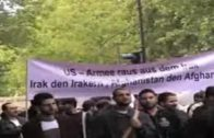 "Al-Quds Demonstration in Berlin der Jugendgruppe ""Die Feder"""