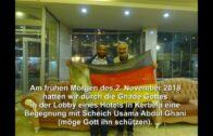 2018-12-10 Begegnung mit Scheich Usama in Kerbela