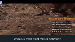 """Vorbereitung zum Aschura """"Ruqayas Wunden"""" – 27.08.2020"""