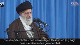 Imam Chamene'i: Fatima Zahra – Unterhaltung mit dem Propheten (s.)