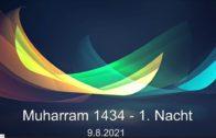 Aschura Veranstaltung in Delmenhorst – 09.08.2021 – Muharram / 1. Nacht