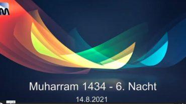 Aschura Veranstaltung in Delmenhorst – 16.08.2021 – Muharram / 8. Nacht