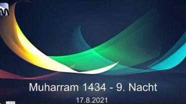 Aschura Veranstaltung in Delmenhorst – 17.08.2021 – Muharram / 9. Nacht