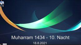 Aschura Veranstaltung in Delmenhorst – 19.08.2021 – Muharram / Aschura
